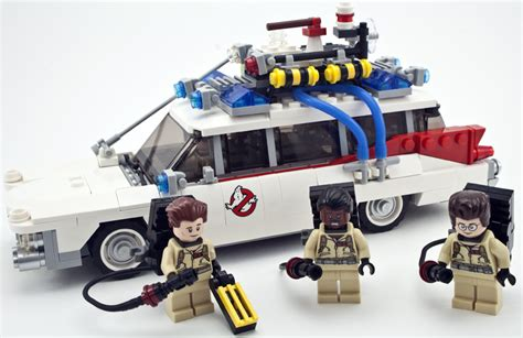 Lego Ghostbuster 21108 review lego 21108 ghostbusters ecto 1 rebrickable build with lego