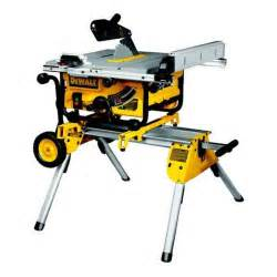 dewalt dw745rs heavy duty lightweight table saw with leg