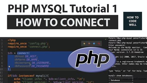 tutorial gammu php mysql php mysql tutorial 1 how to connect to mysql via php