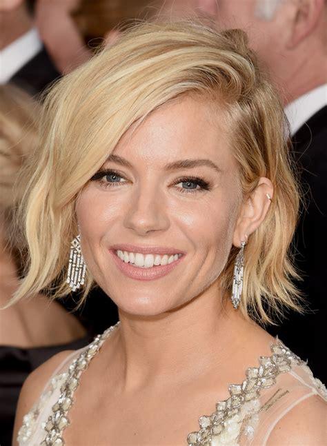 hairstyles lookbook sienna miller short wavy cut short hairstyles lookbook