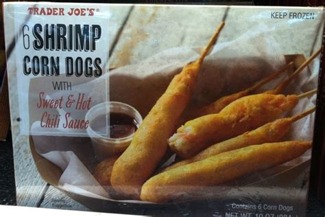 trader joes dogs trader joe s shrimp corn dogs seafood