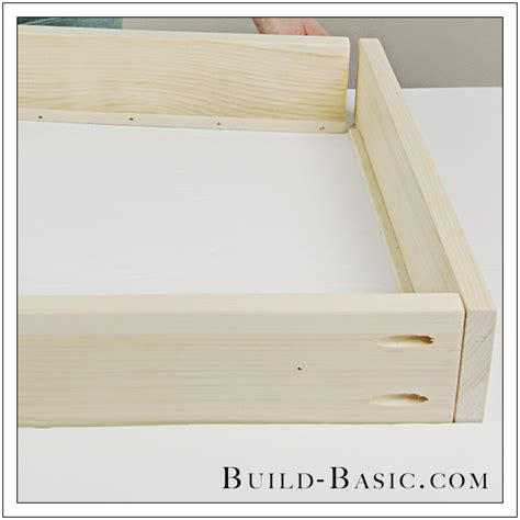 How To Build A Nightstand With Drawers by Build A Diy Midcentury 2 Drawer Nightstand Build Basic