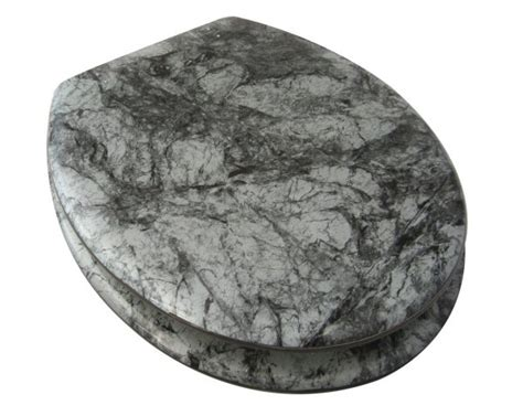 marble elongated toilet seat grey marble toilet seat