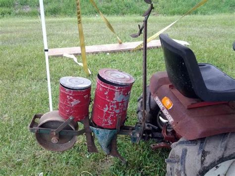 Brinly Planter by Brinly Corn Planter Purchased Implements And Attachments