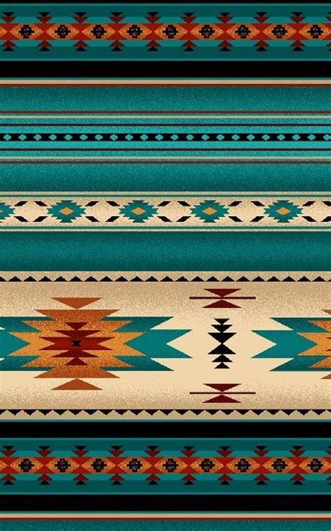 indian pattern fabric native american indian blanket pattern fabric turquoise by