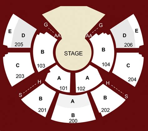 kurios san francisco seat map grand chapiteau at at t park san francisco ca seating