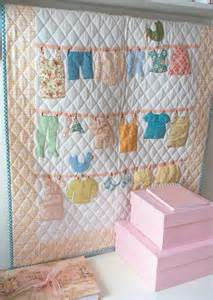baby clothes quilt clothes line and patterns on