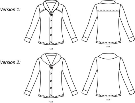 sewing pattern theory thread theory designs newcastle cardigan sewing pattern