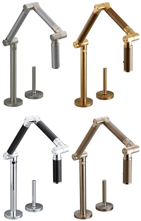 Kohler Karbon Kitchen Faucet Kohler Karbon Kitchen Faucet In 4 New Colors