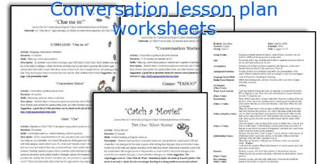 printable lesson plans for esl students english conversation worksheets for adults free efl esl