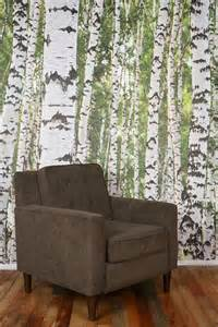 Trees Wall Mural Birch Tree Wall Mural