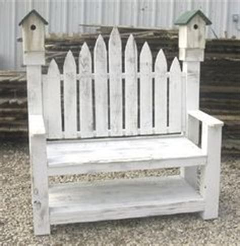 picket fence bench picket fence on pinterest picket fences picket fence
