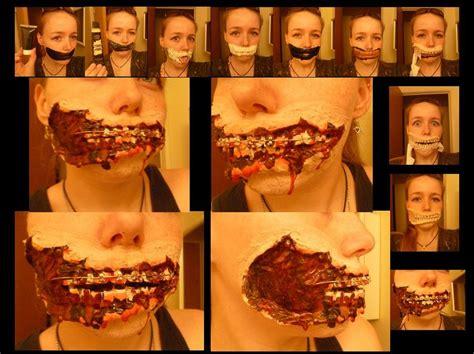tutorial uñas zombie little zombie girl teeth wip 2 by linksliltri4ce on