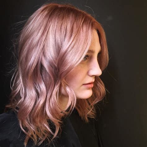 rose gold hair color 50 excellent rose gold hair ideas trendiest colors 2016