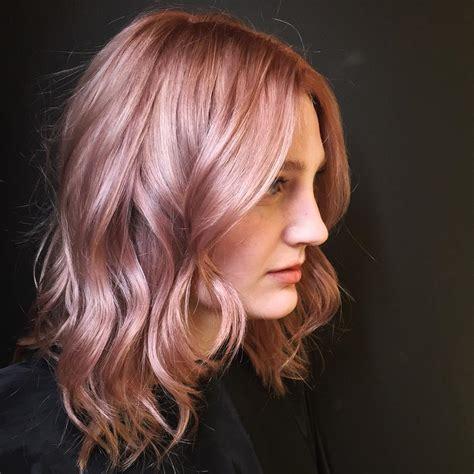 rosegold haircolor 50 excellent rose gold hair ideas trendiest colors 2016