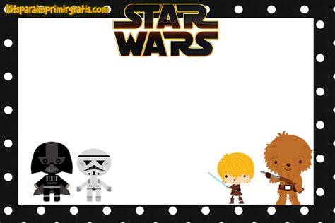 imagenes feliz cumpleaños star wars kit de star wars vii para imprimir gratis y decorar kits