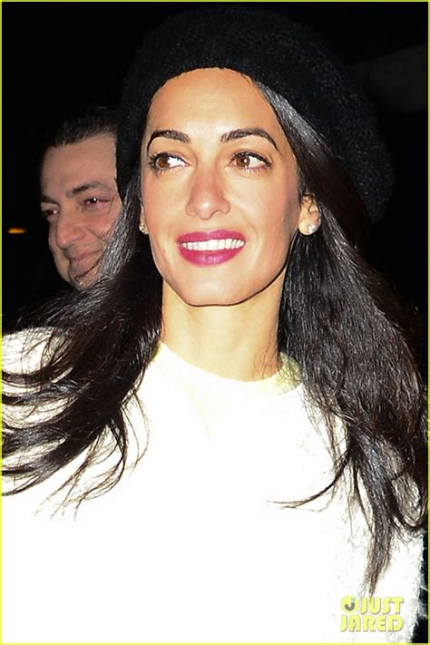 Amel Set by Amal Clooney Set To Teach At Columbia Photo