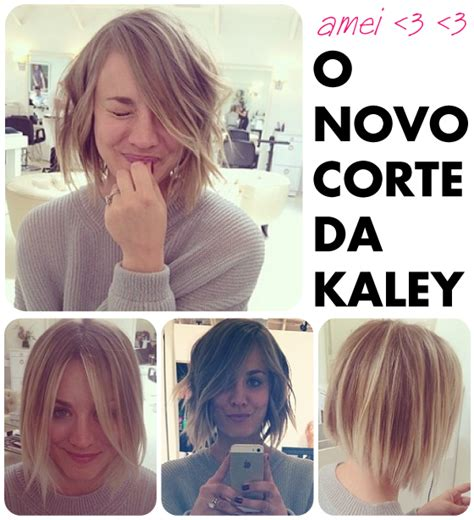 pennys new hairstyle obsess 195 o do dia o cabelo curto da kaley cuoco big