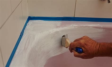 repaint bathtub yourself painting a bath