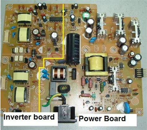kerja bagian bagian inverter board bundet