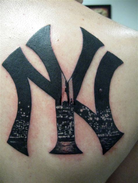tribal yankees tattoo all 143 new york