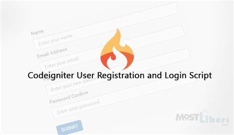codeigniter tutorial user registration mostlikers programming blog demos jquery php mysql and