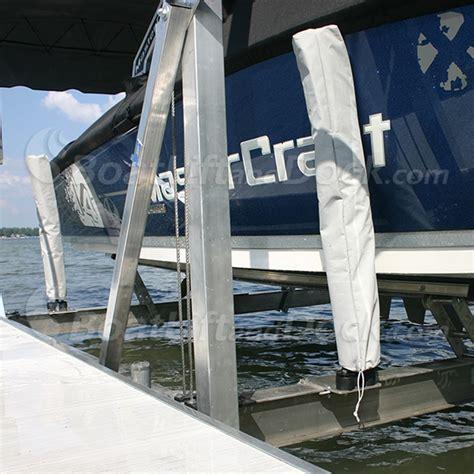 foam guides centering loading craftlander boat lifts - Boat Lift Guides