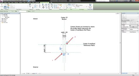 revit curtain wall mullion dani 235 l and autodesk aec software revit curtain wall mullions