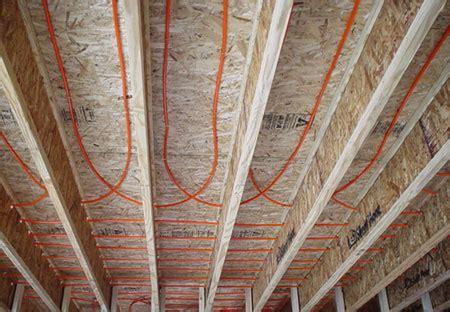 pex hydro radiant flooring depth on existing slab mountain architects hendricks architecture idaho