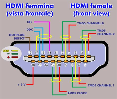 hdmi cable diagram rca to vga pin diagram rca free engine image for user