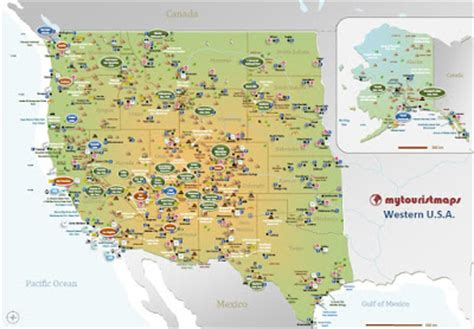interactive travel map of the us mytouristmaps travel and tourist maps tips and