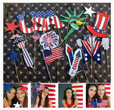 printable patriotic photo booth props 21 patriotic usa photo booth props perfect for your american