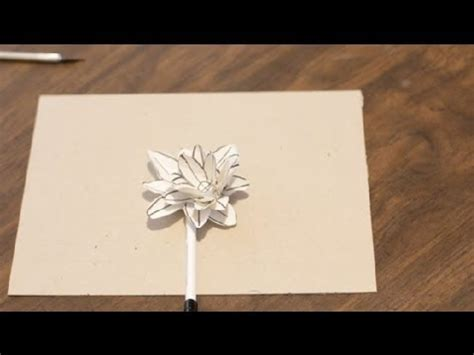 How To Make Lilies Out Of Paper - how to make water lilies out of paper paper crafts