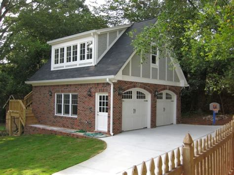 Detached Garage Plans With Bonus Room by Garages Traditional Shed Atlanta By Phoenix