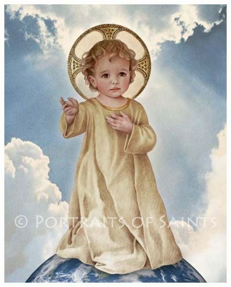 The Saviour savior of the world infant jesus child catholic