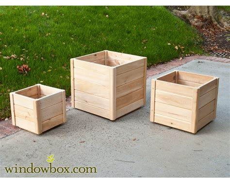 Wood Box Planters Outdoor Planter Projects Page 6 Of 13 Colorful