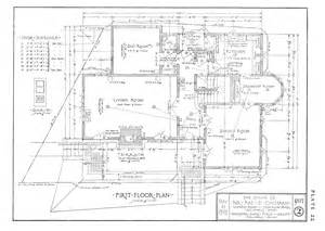 drawing plans rocbo architectural drawing by wooster bard field