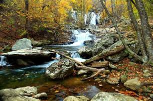 file autumn clear water waterfall landscape virginia