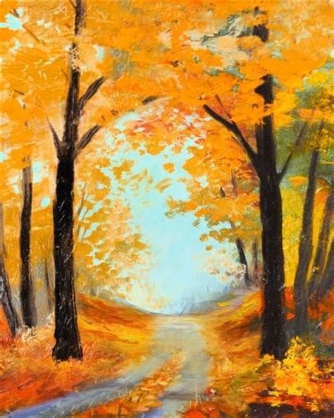 acrylic painting ideas fall fall paintings acrylic www pixshark images