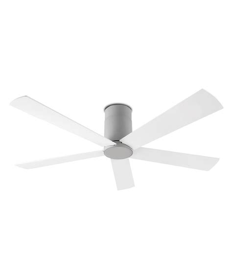ceiling fan with gray blades white or grey ceiling fan with reversible blades and