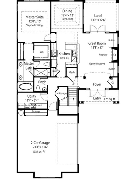 2 story energy smart house plan 33057zr 1st floor