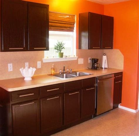 paint cabinets brown for the home