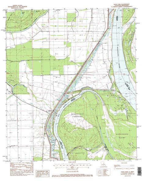 map of deer park texas deer park topographic map la ms usgs topo 31091d5