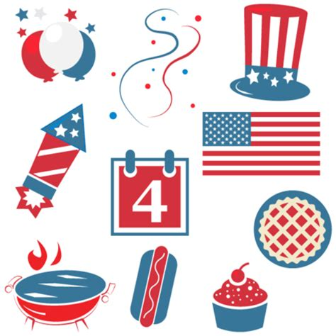 4th of july free clip happy fourth of july clipart clipart clipart me
