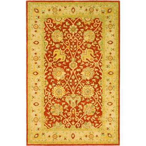 Safavieh Antiquity Safavieh Antiquity Rust 6 Ft X 9 Ft Area Rug At21a 6