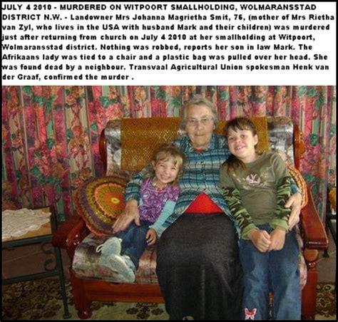 boer genocide farm murders names boer genocide farm murder death list 1994 july 14 2010