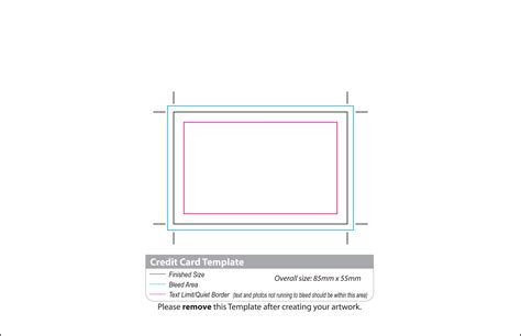 Visa Card Template by Untitled Document Www Printsolutions Co Uk