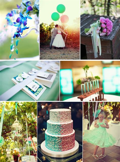 daiquiri ice cool wedding color inspiration onewed