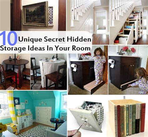 where to hide stuff in your room top 10 unique and amazing secret storage ideas in your room diy cozy home world home