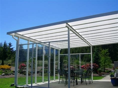 Patio Roof Sheeting by 17 Best Images About Yard Patio Covers On